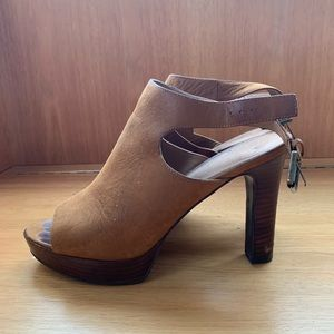 Ralph Lauren heeled sandals with buckle